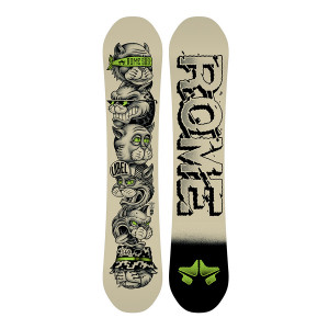 Placa Snowboard Copii Rome SDS Label 2019
