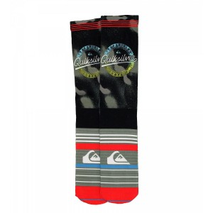 Sosete Quiksilver Frontboarded Knitted Sublimation Gri