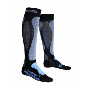 Sosete Schi X-Socks Ski Carving Ultralight W Negre/Albastre