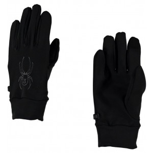 Manusi Spyder Stretch Fleece Conduct M Negre
