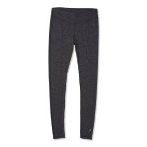 Pantaloni First Layer Femei Smartwool Merino 250 Base Layer Charcoal H (Gri)
