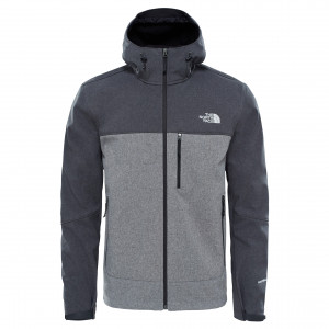 Geaca Barbati Hiking The North Face Apex Bionic Hoodie Gri