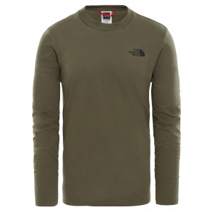 Bluza Barbati The North Face L/S Easy Verde
