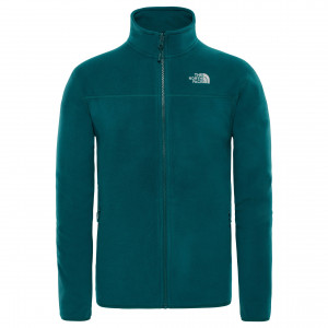 Polar Barbati The North Face 100 Glacier Full Zip Verde