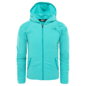 Hanorac Fete The North Face Mezzaluna Full Zip Hoodie Turcoaz
