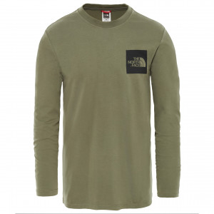 Bluza Barbati The North Face L/S Fine Verde