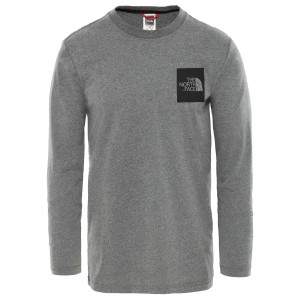 Bluza Barbati The North Face L/S Fine Gri