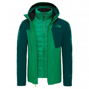 Geaca Barbati Hiking The North Face Mountain Light Triclimate Verde
