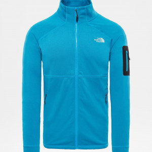Bluza Mid-Layer Barbati Hiking The North Face Impendor Powerdry Albastru / Negru