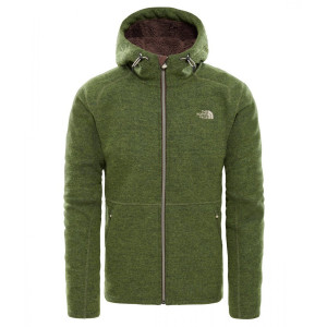 Hanorac Barbati The North Face Zermatt Full Zip Hoodie Verde