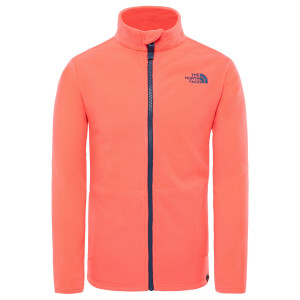 Polar Copii The North Face Snow Quest Full Zip Corai