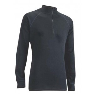 Bluza First-Layer Trekmates Merino Zip Top W Negru