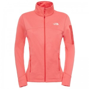 Bluza The North Face W Kyoshi Full Zip Portocalie