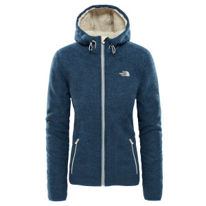 Hanorac Femei The North Face Zermatt Full Zip Hoodie Bleumarin
