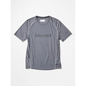 Tricou Drumetie Barbati Marmot Windridge with Graphic SS Gri