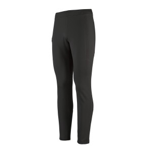 Pantaloni Fleece Barbati Patagonia Crosstrek Bottoms Black  (Negru)