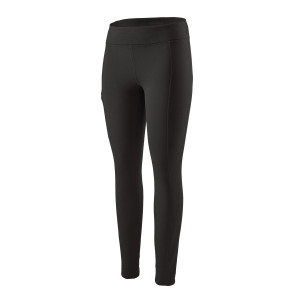 Pantaloni Fleece Femei Patagonia Crosstrek Bottoms Black  (Negru)