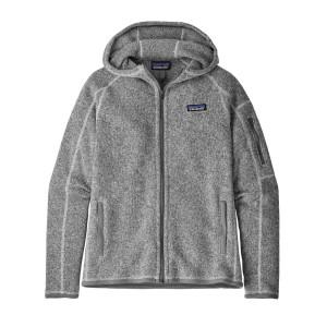 Hanorac Drumetie Femei Patagonia Better Sweater Hoody Gri