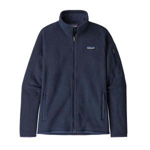 Polar Drumetie Femei Patagonia Better Sweater Jkt New Navy (Bleumarin)
