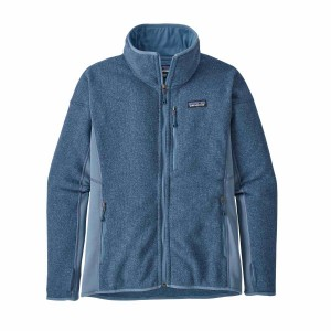 Polar Femei Patagonia Performance Better Sweater Woolly Blue  (Bleu)