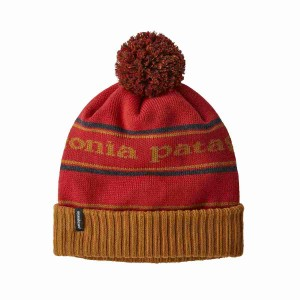 Caciula Patagonia Powder Town Beanie Park Stripe / Hammonds Gold (Multicolor)