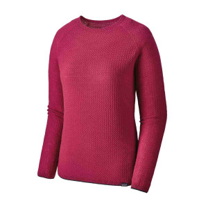 Bluza First Layer Femei Patagonia Capilene Air Crew Craft Pink  (Roz)