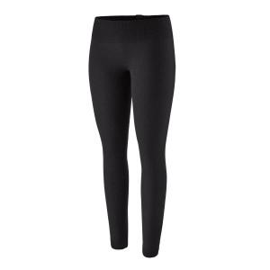 Pantaloni First Layer Femei Patagonia Cap Air Bottoms Black (Negru)