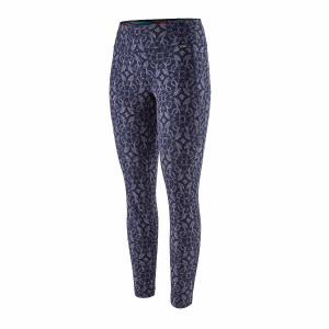 Pantaloni First Layer Femei Patagonia Capilene MW Bottoms Classic Navy  (Multicolor)