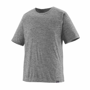 Tricou Barbati Patagonia Capilene Cool Daily Shirt Feather Grey (Gri)