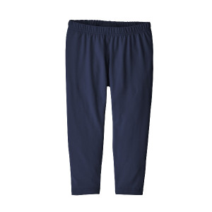 Pantaloni First Layer Copii 0-5 ani Patagonia Baby Capilene Bottoms New Navy (Bleumarin)