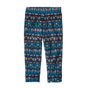 Pantaloni Polar Copii 0-5 ani Patagonia Baby Micro D Bottoms Balkan Blue (Multicolor)