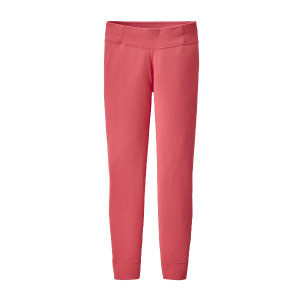 Pantaloni First Layer Copii 5-14 ani Patagonia Girls' Capilene Bottoms Range Pink (Roz)