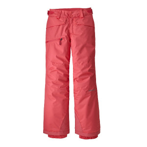 Pantaloni Ski Copii 5-14 ani Patagonia Girls' Snowbelle Pants Range Pink (Roz)