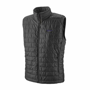 Vesta Drumetie Barbati Patagonia Nano Puff Vest Forge Grey (Gri)