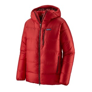 Haina Puf  Barbati Patagonia Fitz Roy Down Parka Fire w/Oxide Red  (Rosu)