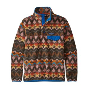 Polar Drumetie Femei Patagonia Lightweight Synch Snap-T Pull Over Companions Big: Anthos Pink (Multicolor)
