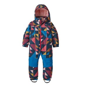 Combinezon Ski Copii Patagonia Baby Snow Pile One-Piece Cozy As It Gets: Crater Blue (Multicolor)