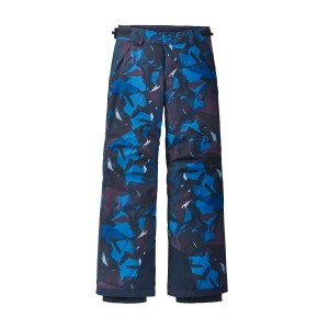 Pantaloni Ski Copii Patagonia Boys' Everyday Ready Pants Painted Fields: Superior Blue (Multicolor)