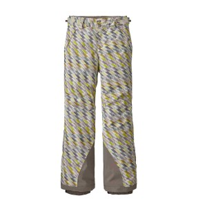 Pantaloni Ski Copii Patagonia Girls' Everyday Ready Pants Stardust: Chartreuse (Multicolor)