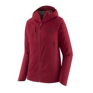Geaca Softshell Ski Femei Patagonia Upstride Jacket Visiniu