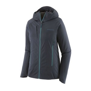 Geaca Softshell Ski Femei Patagonia Upstride Jacket Bleumarin