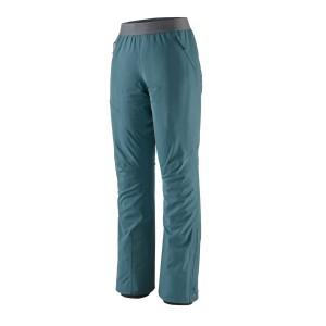 Pantaloni Softshell Ski Femei Patagonia Upstride Pants Albastru