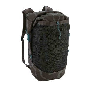 Rucsac Drumetie Patagonia Planing Roll Top Pack 35L Tiger Tracks Camo: Ink Black (Camuflaj)