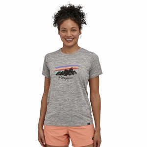 Tricou Femei Patagonia Capilene Cool Daily Graphic Gri