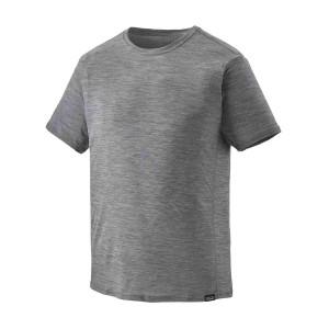 Tricou Barbati Patagonia Capilene Cool Lightweight Shirt Feather Grey X-Dye (Gri)