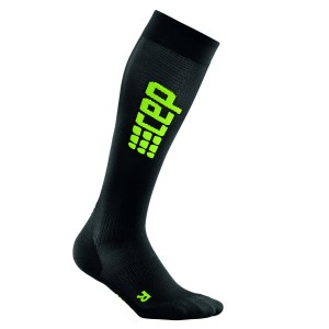 Sosete Compresie CEP Progressive+ Ultralight Compression Run W Negru / Verde
