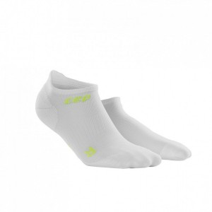 Sosete Alergare CEP Dynamic+ Run Ultralight No-Show W Alb / Verde