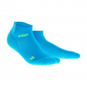 Sosete Alergare CEP Dynamic+ Run Ultralight Low-Cut W Bleu / Verde