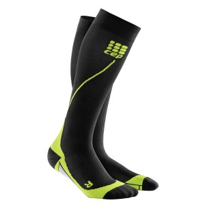 Sosete Compresie CEP Progressive+ Compression Run 2.0 M Negru / Verde