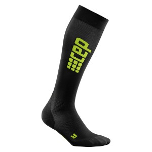 Sosete Compresie CEP Progressive+ Ultralight Compression Run M Negru / Verde
